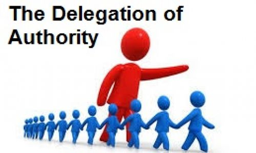 Image result for delegation of authority